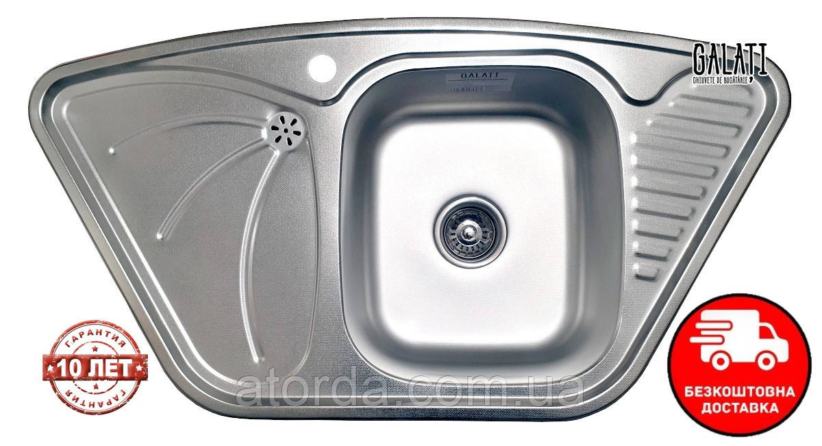 Кухонна мийка Galati Meduză Nova Textură