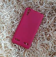 Чехол силиконовый плотный для Lenovo A6000 (K3), Розовый