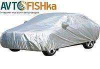 Автомобильный тент   седан Milex L 483х178х120  PEVA+PP Cotton (серый, зеркало, замок)