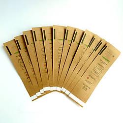 Крафт-пакети Алвін 50х170мм 100шт/уп з індикатором, самоклеючі
