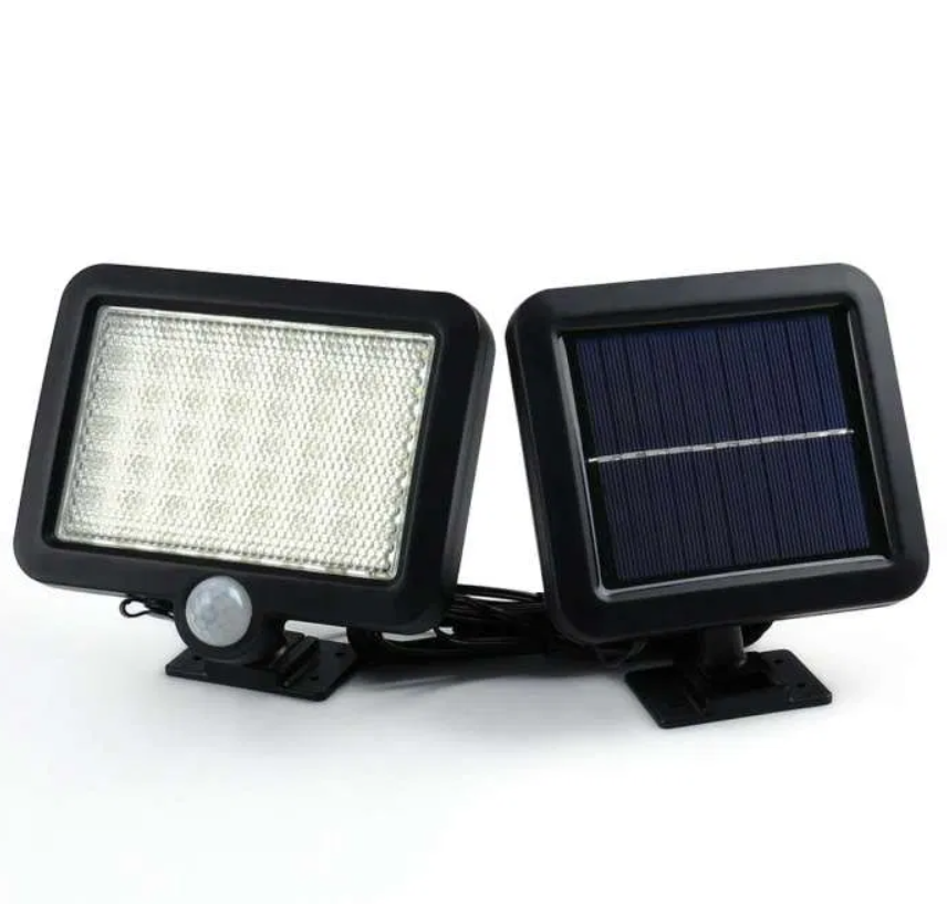 Светильник на солнечной батарее 56 led