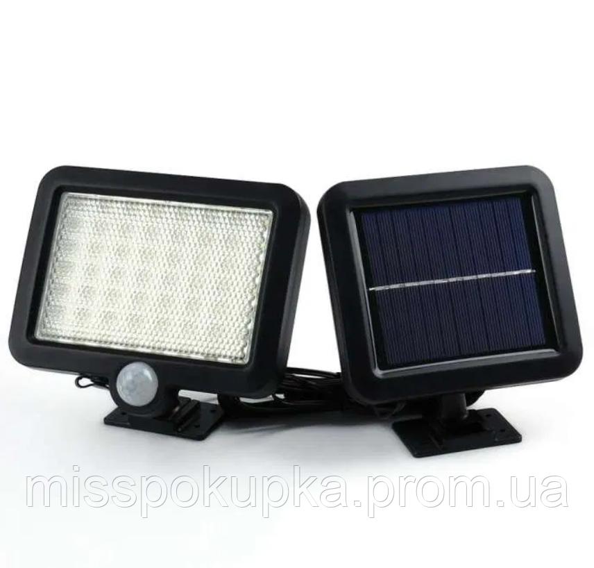 Світильник на сонячній батареї 56 led