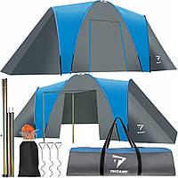 Палатка туристическая 6 местная TRIZAND