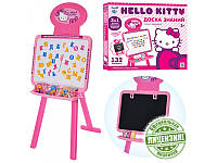 Мольберт детский двухсторонний 3в1 Hello Kitty/ Хэлло Китти 3в1 с 3 алфавитами