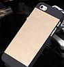 Чехол золотой Motomo для Iphone 5/5S