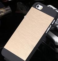 Чехол золотой Motomo для Iphone 5/5S, фото 1