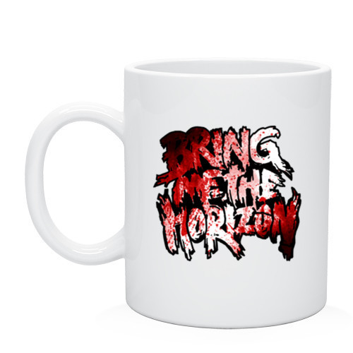 Кружка Bring me the horizon blood in