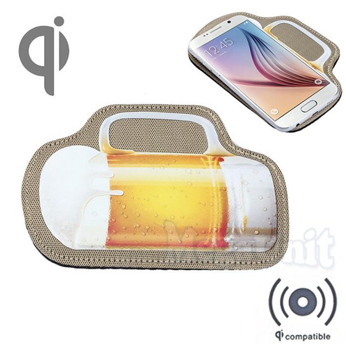 Qi Беспроводное зарядное устройство (Wireless charger) Beer