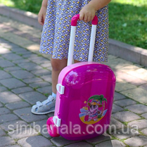 Дитячий іграшковий валізу ТМ ТехноК, для дівчинки