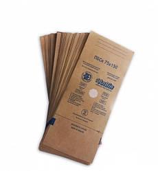 Пакети для повітряної стерилізації ПБСП-СтериМаг 75х150 мм з крафт паперу