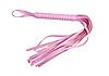 Розовая плетка кнут для БДСМ игр, фото 3