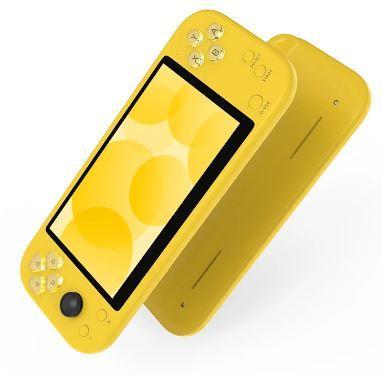 Игровая приставка X20 / 8GB / 5,1 дюймов LCD / 3000 игр / Желтая
