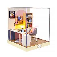Кукольный дом конструктор DIY Cute Room BT-030 Уголок счастья 23*23*27,5см 3D Румбокс