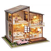 Ляльковий будинок конструктор DIY Cute Room A-080-B Big House 3D Румбокс, фото 1