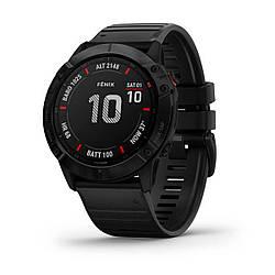Мультиспортивные часы GARMIN Fenix 6X Pro Black with Black Band