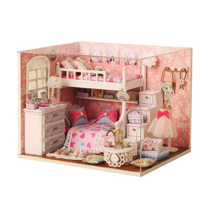 Ляльковий будинок конструктор DIY Cute Room 3006 Dream Angels 3D Румбокс