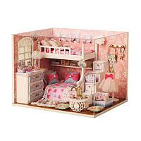 Ляльковий будинок конструктор DIY Cute Room 3006 Dream Angels 3D Румбокс, фото 1