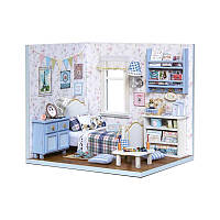 """Кукольный дом конструктор DIY Cute Room 3003 """"Дом, милый дом"""" 3D Румбокс, фото 1"""
