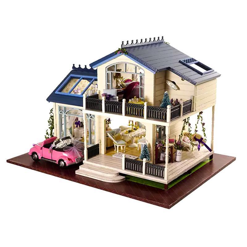 """Ляльковий будинок конструктор DIY Cute Room 1032 Вілла """"Прованс"""" 3D Румбокс"""