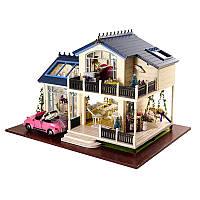"""Кукольный дом конструктор DIY Cute Room 1032 Вилла """"Прованс"""" 3D Румбокс"""