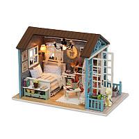 Кукольный дом конструктор DIY Cute Room 8007-D Good Times 3D Румбокс
