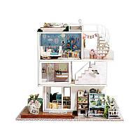 """Кукольный дом конструктор DIY Cute Room A-077-B Вилла """"Хорошие времена"""" для детей, фото 1"""