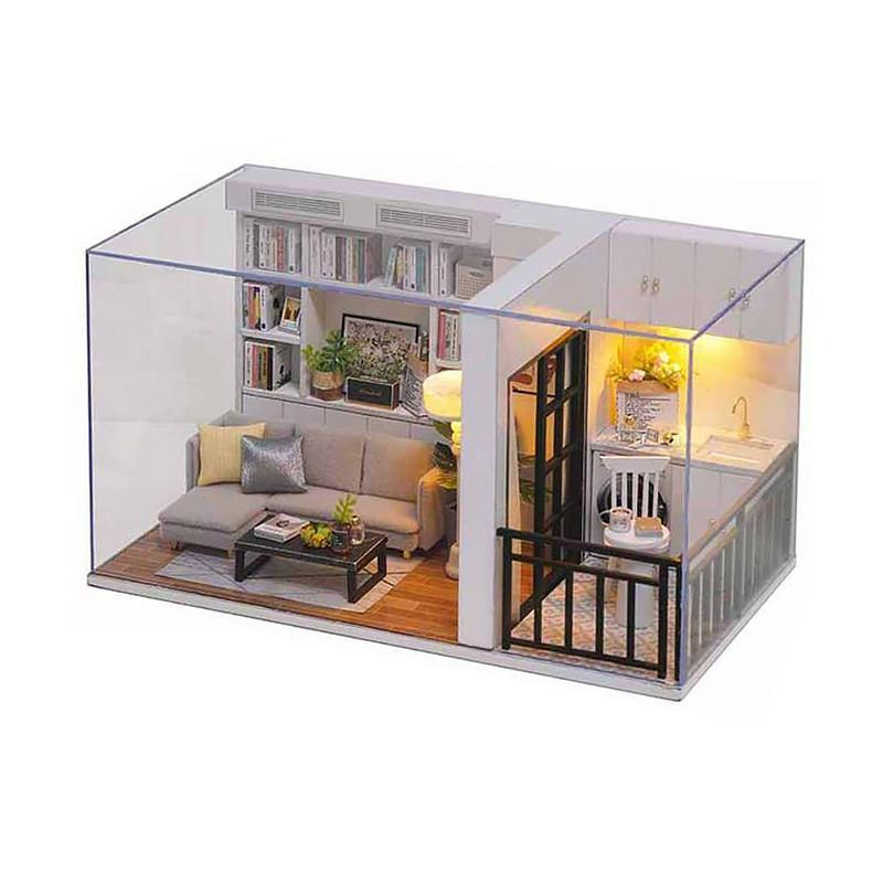 Кукольный дом конструктор DIY Cute Room QT-005-B Genki Life для детей