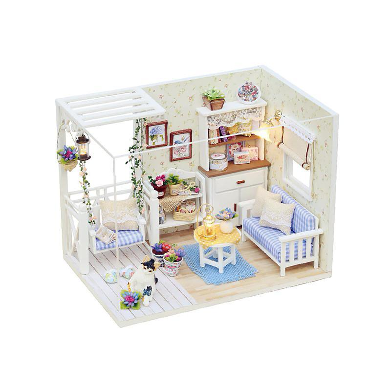 Кукольный дом конструктор DIY Cute Room 3013 Kitten Diary 3D Румбокс