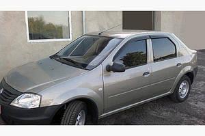 Ветровики (4 шт, ANV) - Dacia Logan I 2005-2008 гг.
