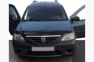Дефлектор капота (EuroCap) - Dacia Logan I 2005-2008 гг.