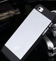 Чехол серебряный Motomo для Iphone 5/5S, фото 1