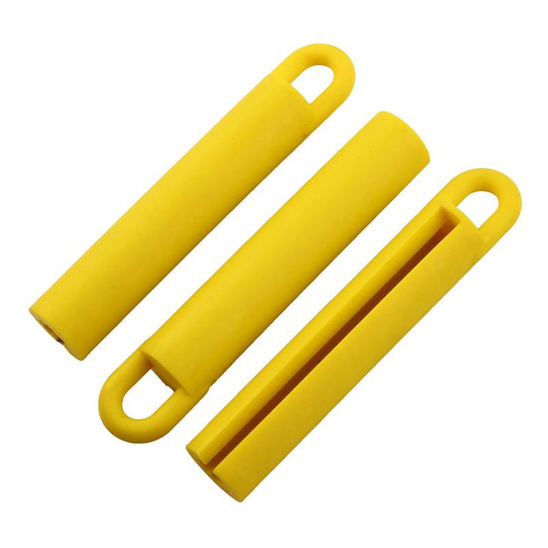 Гумовий підвіс для кия 11см, жовтий
