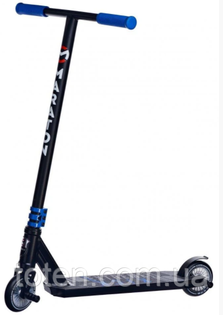 Трюковий Самокат Maraton DEXTER 110 мм НІС Синій