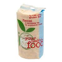 Хлібці рисові з чіа і морською сіллю 100г ТМ Bio Food