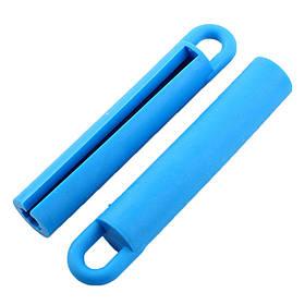 Гумовий підвіс для кия 11см, синій