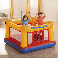 """Детский надувной игровой центр - батут, замок """"Playhouse"""" Intex 48260"""
