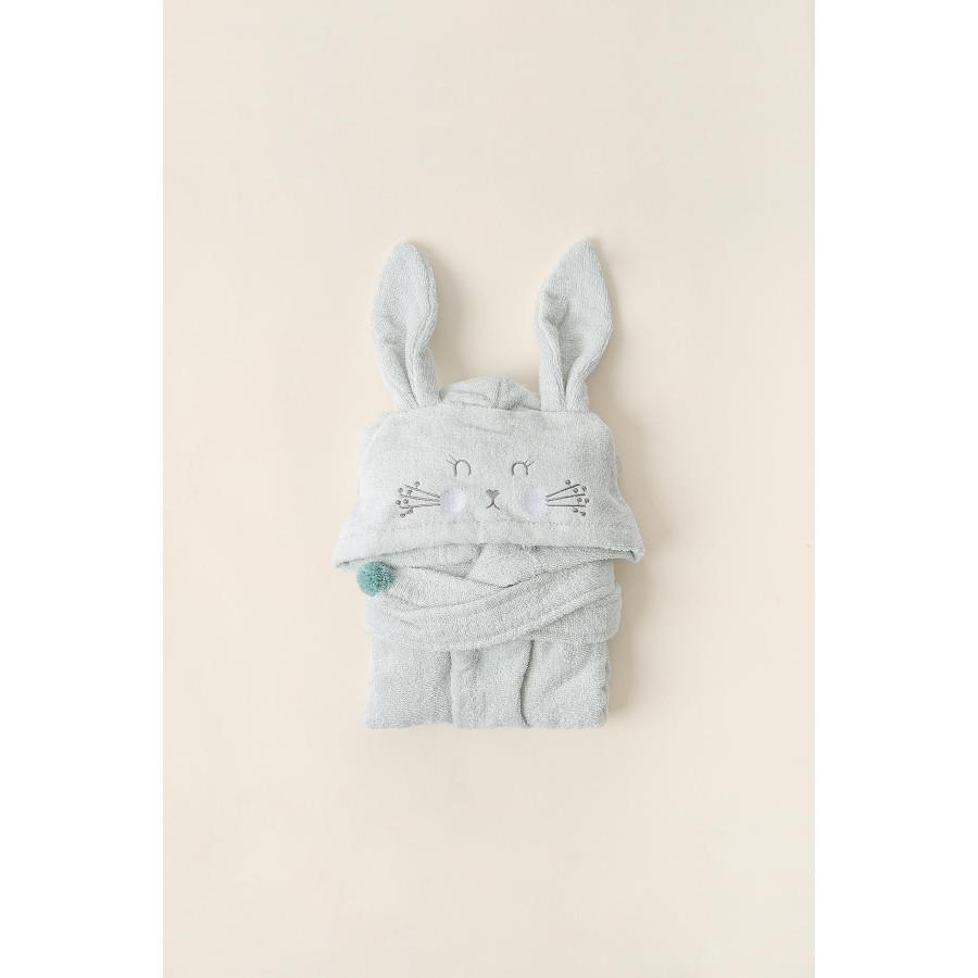 Халат детский Irya - Bunny mint ментоловый 4-5 лет