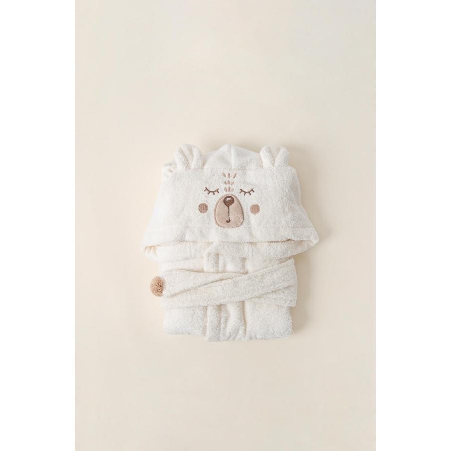 Халат детский Irya - Teddy krem кремовый 2-3 года