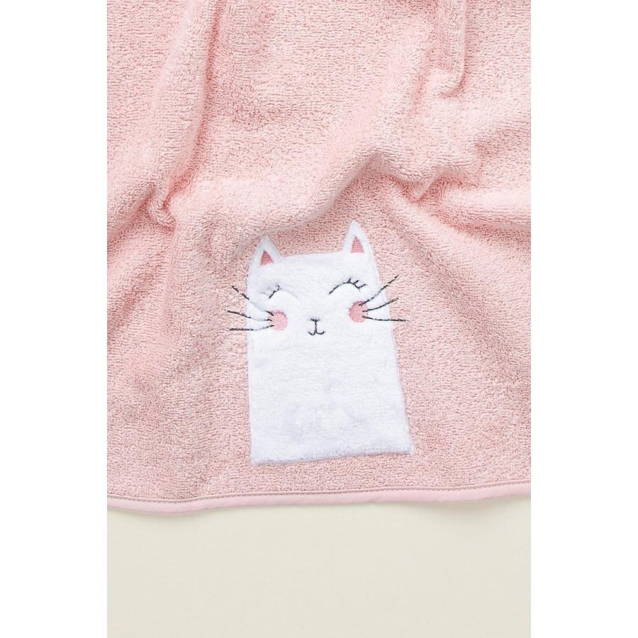 Полотенце детское Irya - Kitty pembe 50*75 розовый