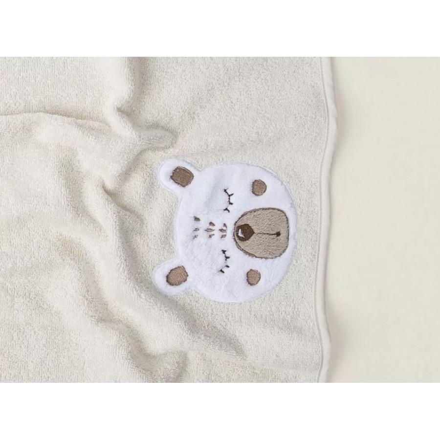 Рушник дитяче Irya - Teddy krem 50*75 кремовий