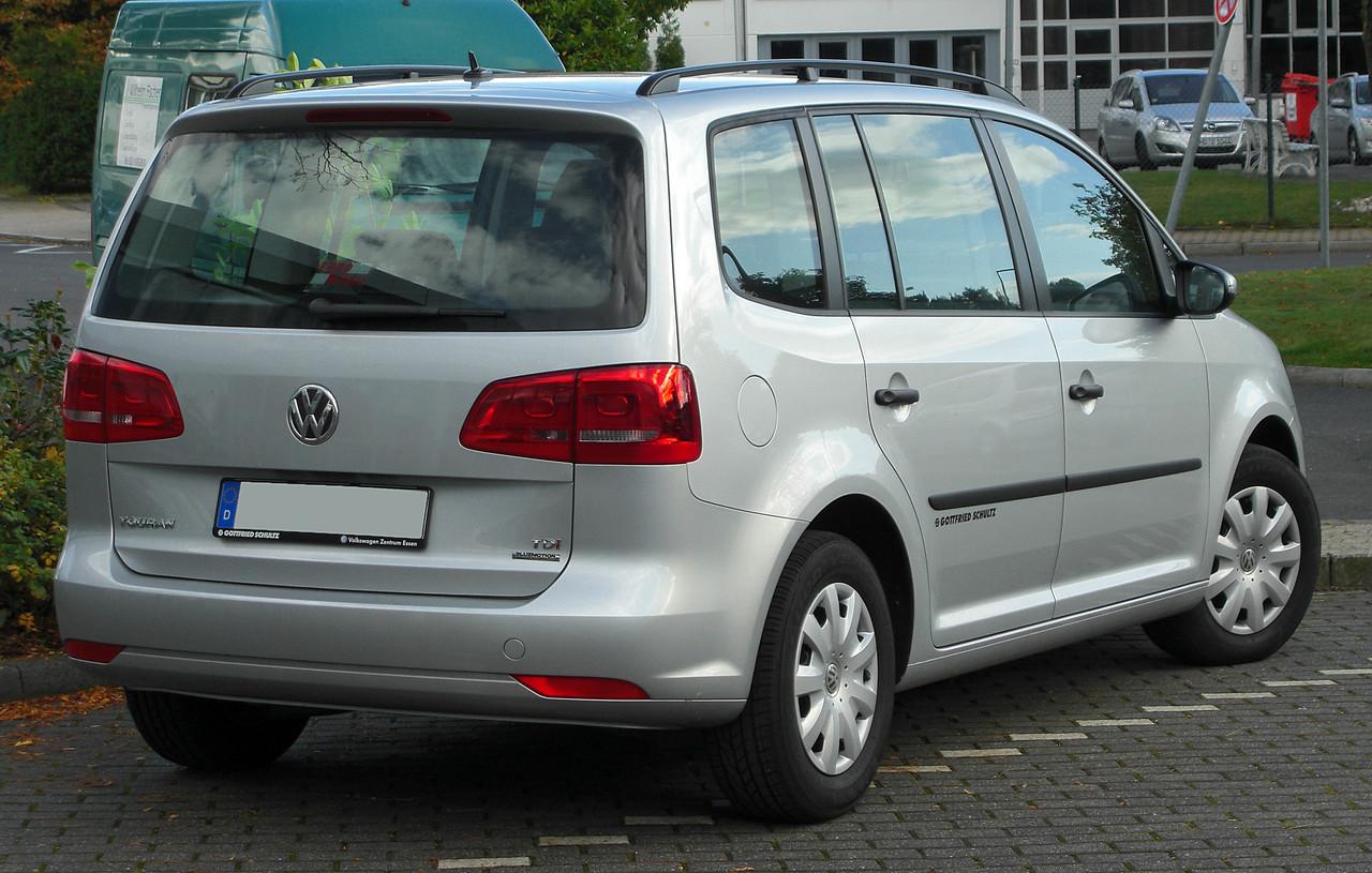 Важіль заднього склоочисника VW Touran 11-15 (Китай) 345 ММ