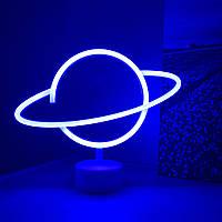 Неоновый светильник Планетка, ночник, лампа неоновая Новинка 2021