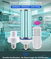 Лампа бактерицидна ультрафіолетова UV-C 220V E27 254nm 60W, фото 1
