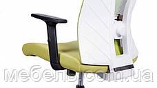 Кресло для врача Barsky BM-06 Mesh White/Green, сеточное кресло, зеленый / белый, фото 3