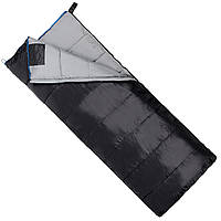 Спальний мішок (спальник) ковдра SportVida SV-CC0069 -3 ...+ 21°C L Black/Grey