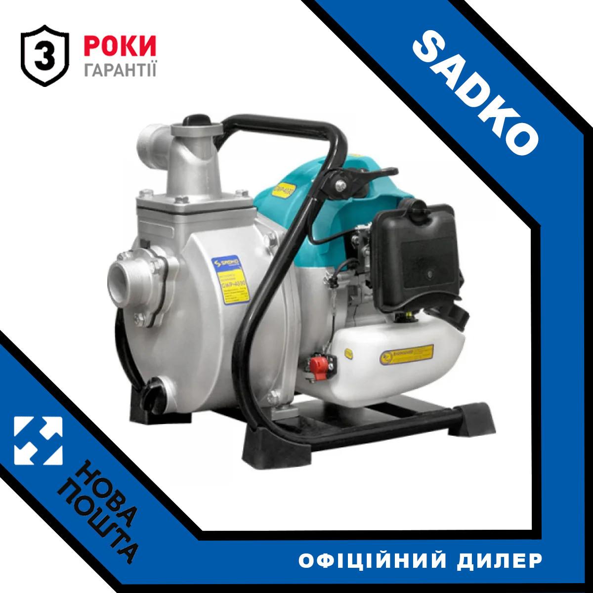 Мотопомпа Sadko GWP-4030 (19 м.куб / год, для чистої води) (F00162801)