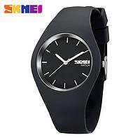 Skmei 9068 rubber сірі жіночі годинники