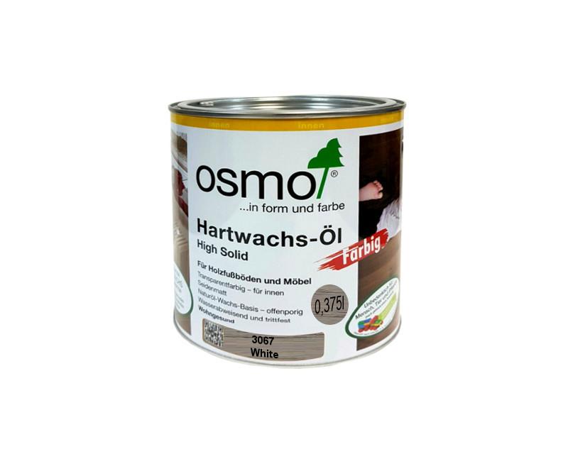 Масло с твердым воском OSMO HARDWACHS-OL FARBIG для пола и изделий из древесины 3067 - светло-серый 0,375л