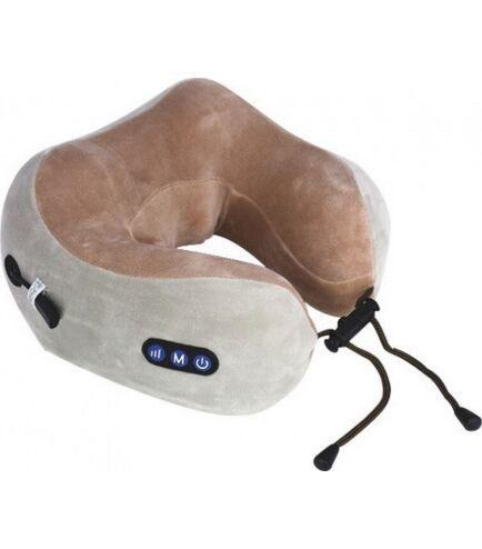 Массажер - подушка для шеи с подогревом и тремя уровнями интенсивности массажного воздействия U-Shaped Massage