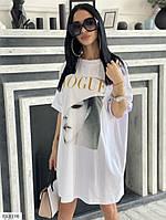 Жіноче легке повсякденне плаття в спортивному стилі з коротким рукавом р-ри 42-48 арт. М390